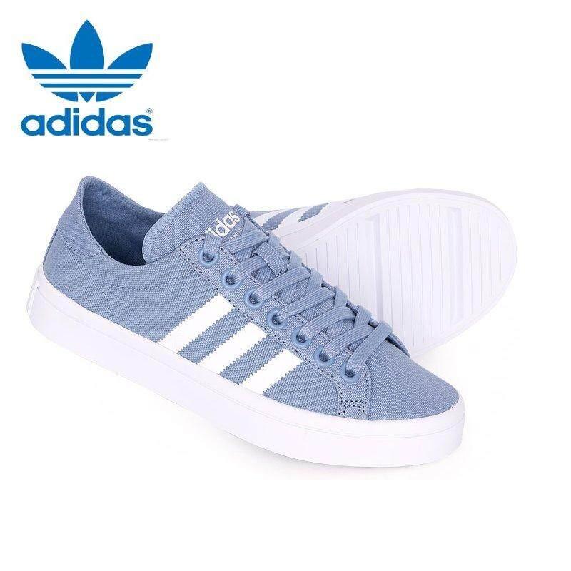 reducir farmacia salario  Adidas Originals Court Vintage W BB5208 Blue / White Sneakers | Lazada PH