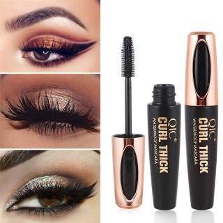 4D Silk Fiber Lash Mascara Waterproof Mascara For Eyelash Extension Black Thick Lengthening Eye Lashes thumbnail