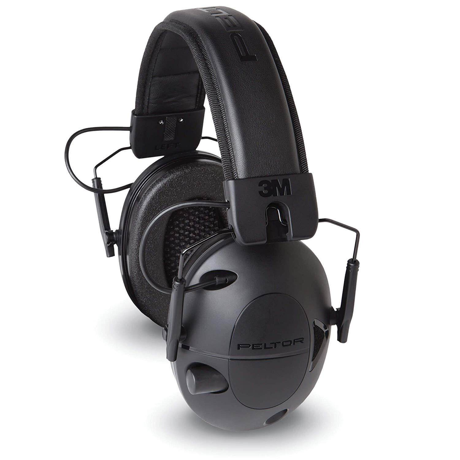3M Peltor Sport Tactical 100 Electronic Hearing Protector, Ear Protection, NRR 22 dB, Ideal for Shooting and Hunting (TAC100)