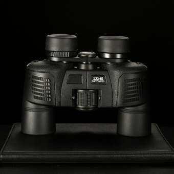 FCU 12X45 กล้องส่องทางไกลกันน้ำ HD การมองเห็นได้ในเวลากลางคืนอินฟราเรดไนโตรเจน-