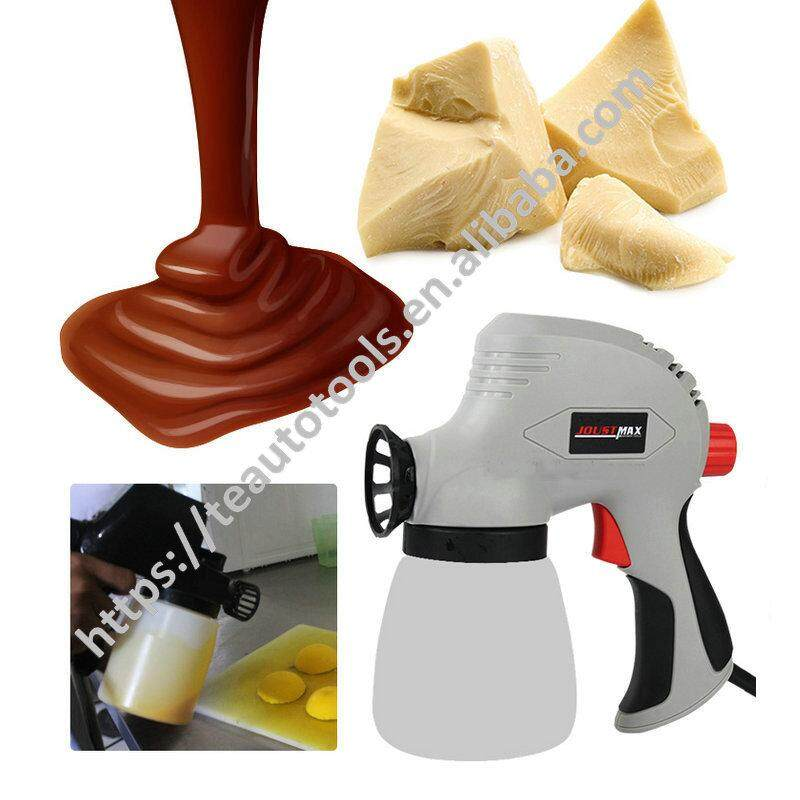 Chocolate liquid electric spray Tool frosted turn sugar ice cream mousse cake decoration sandblasting machine baking tools