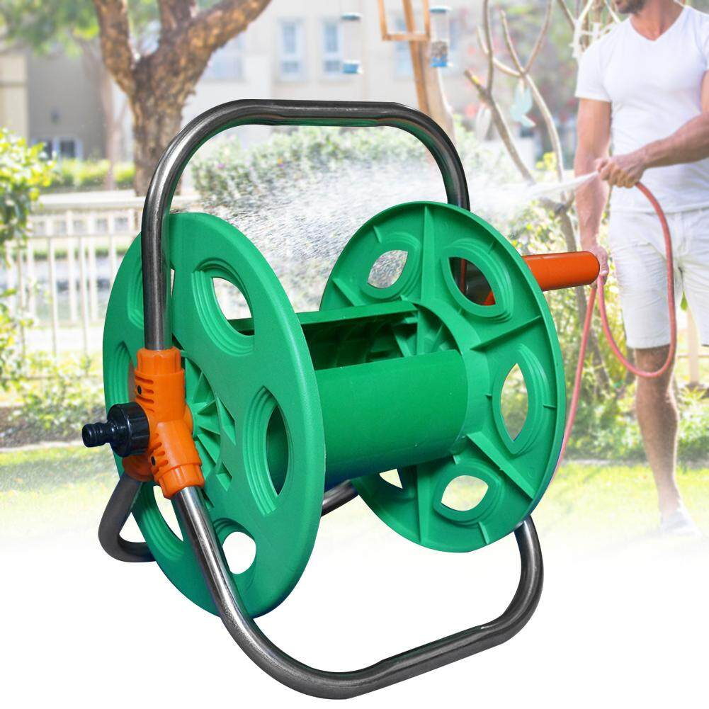 Heavy Duty Space Saving Portable Garden Easy Install Anti Corrosion Rust Resistant Outdoor Water Hose Reel