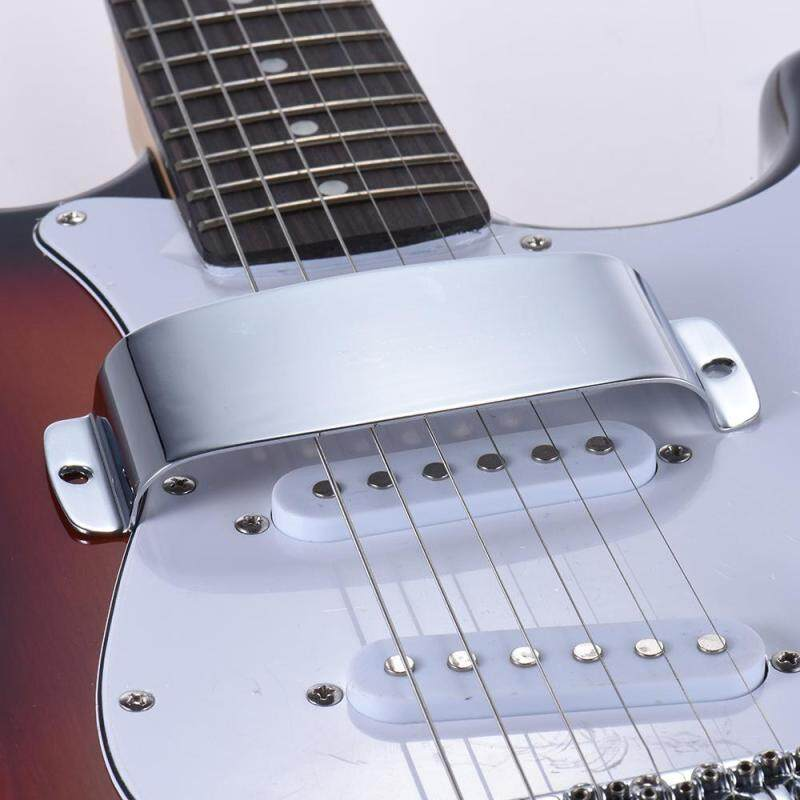 Chrome Plated Steel Pickup Cover Protector for Jazz Bass Electric Bass Guitar Part Replacement Malaysia