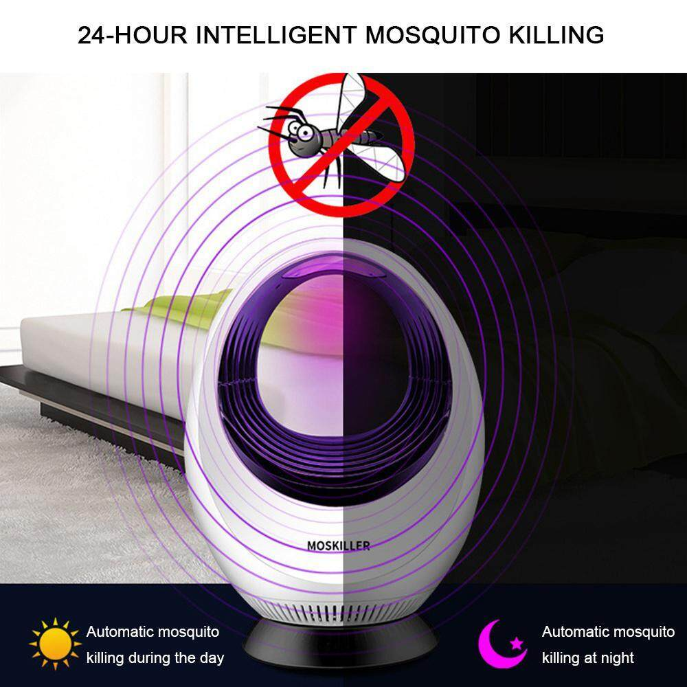 BuyInBulk LED Hollow Inhalation Mosquito Killer Photocatalyst Physics Electronic Mosquito Killer, New Mosquito Killer Household