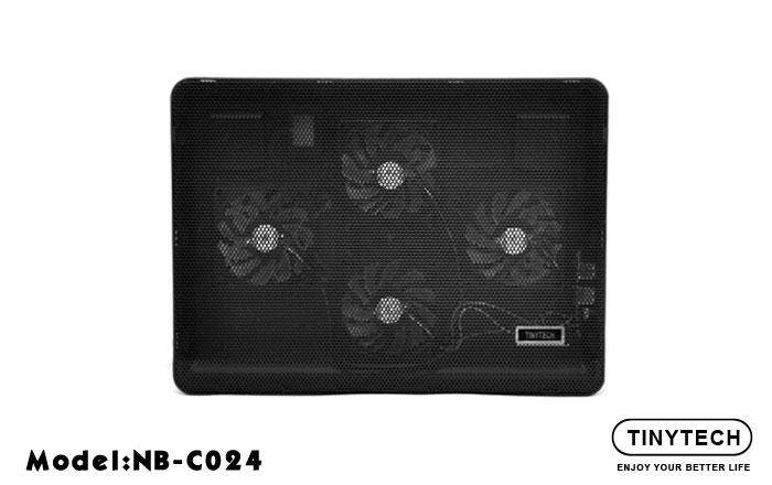 TINYTECH C024 4 FANS NOTEBOOK COOLER PAD Malaysia