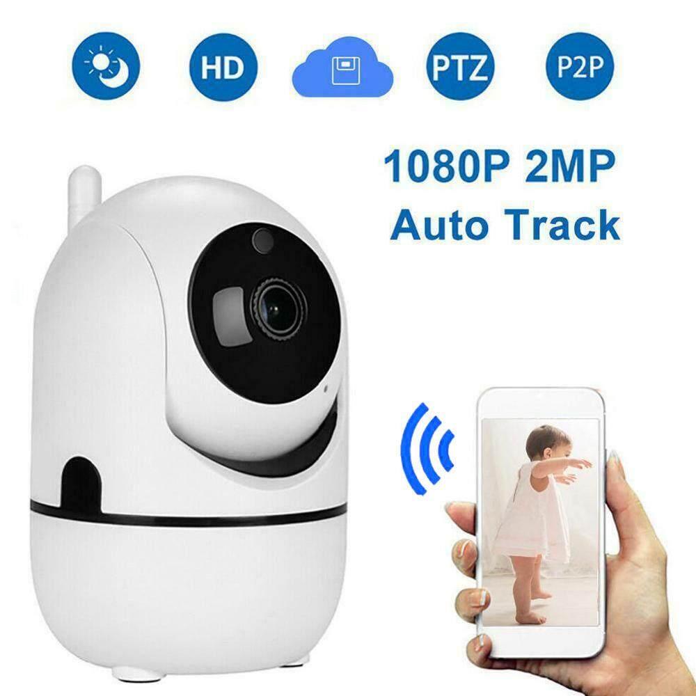 Camera IP Nhìn Đêm IR Mini Màn Hình Bé Đám Mây HD 1080P Không Dây WiFi Camera Mạng CCTV Giám Sát An Ninh Gia Đình Tự Động