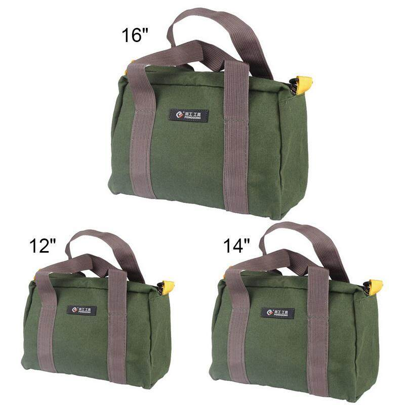 Tool Pouch Electrician Pouch Tool Bag Waist Pack Storage Bag Pocket Hardware Tool Kit Heavy Duty Canvas on sale