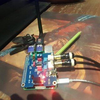 Mô-đun Card Âm Thanh WLLW PIFI Digi DAC + HIFI DAC I2S Giao Diện, Cho Raspberry Pi 3 thumbnail
