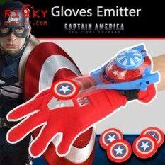 Găng Tay Captain America Bắn Thẻ – Găng Tay Bắn Thẻ Nhựa