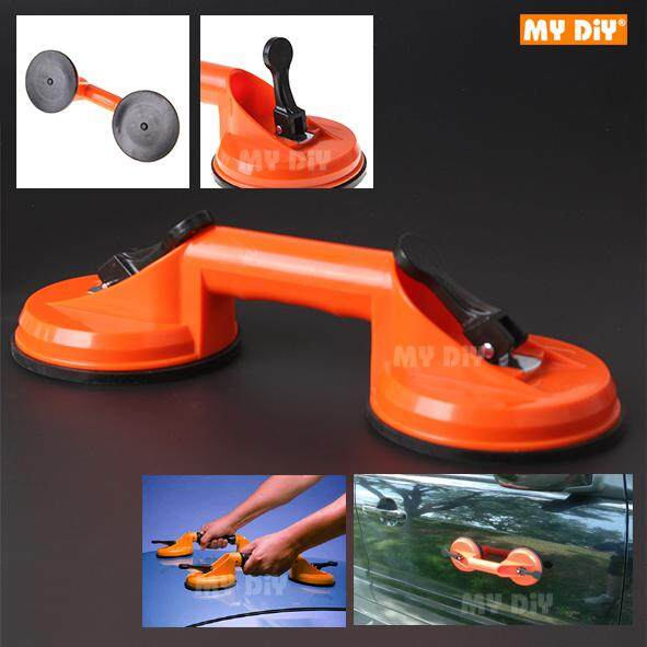 MYDIYHOMEDEPOT - Heavy Duty ABS 2 Plates Glass Suction Cup Glass Lifter 2 Plates Vacuum Suction Cup Glass Lifter Puller for Moving Glasses Tiles Mirrors