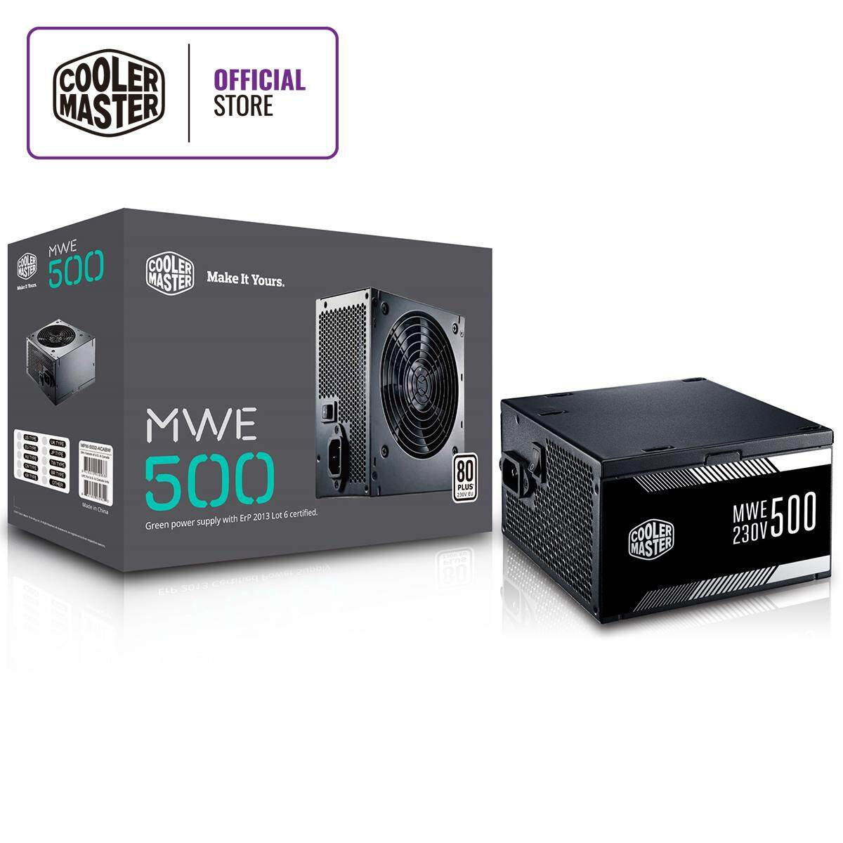 Cooler Master Mwe 500 (80 Plus 230v Eu Certified) By Cooler Master Malaysia.