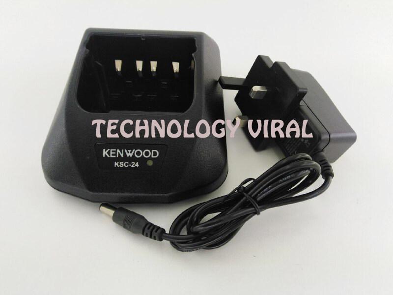 Rapid Ni-MH Charger KSC-24 For Kenwood TK3100 TK372 TK272 Portable