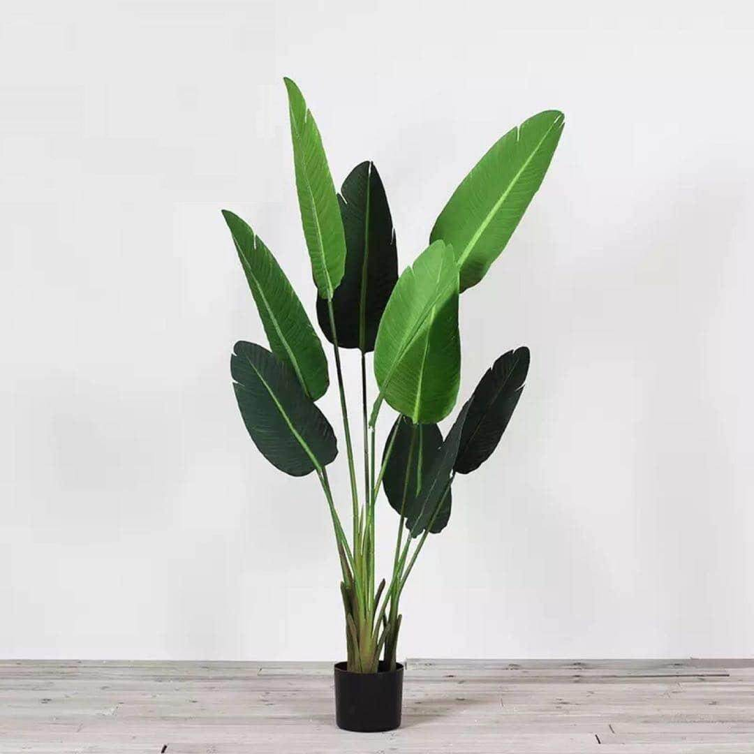 160cm Tinggi Artificial Banana Leaf Tree