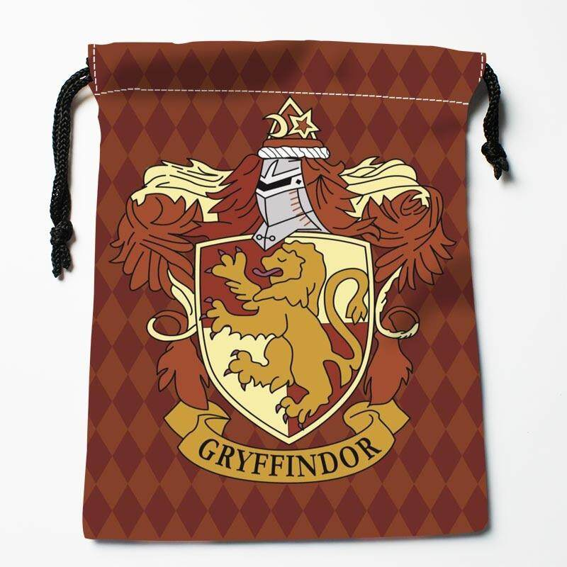 27b7c1446f3d Size 35x45cm Harry Potter Drawstring Bags Custom Storage Bags Printed Gift  Bags Diy Your Picture Style