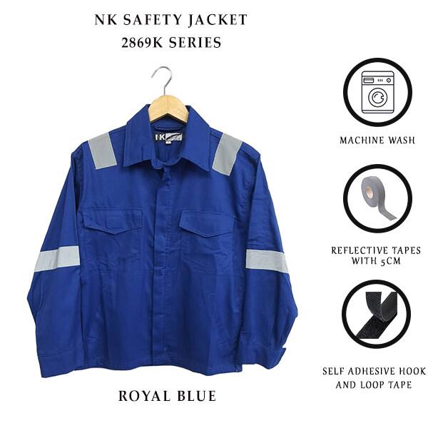 NK SAFETY JACKET 2869K - ROYAL BLUE