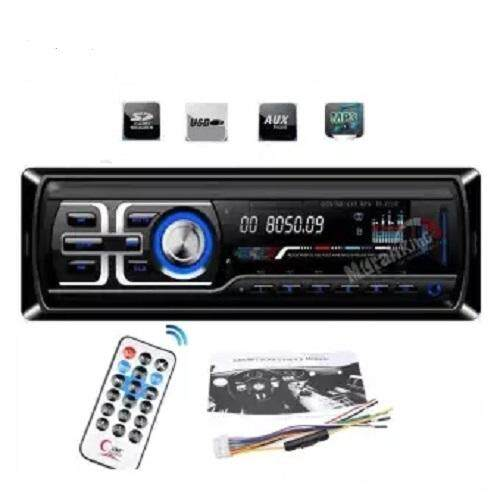 Car Player Audio Stereo Blue LED Screen On FM Board Car Stereo Input Receiver 50W x 4 LCD Screen SD USB MP3 WMA Radio Player