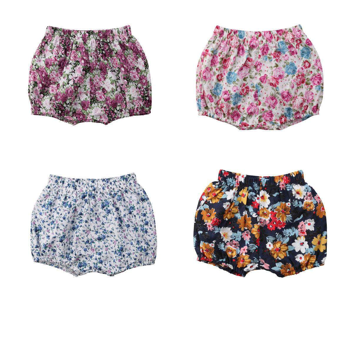 14597ffea19161 Baby Girl Lovely Floral Printed Short Pants Kid s Spring Summer Fashion  shorts
