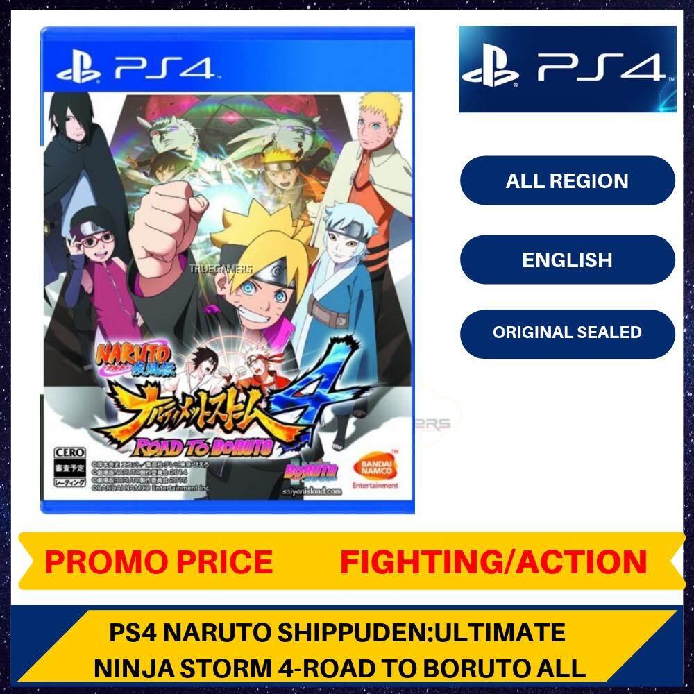 Ps4 Naruto Shippuden Ultimate Ninja Storm 4 Road To Boruto All Lazada