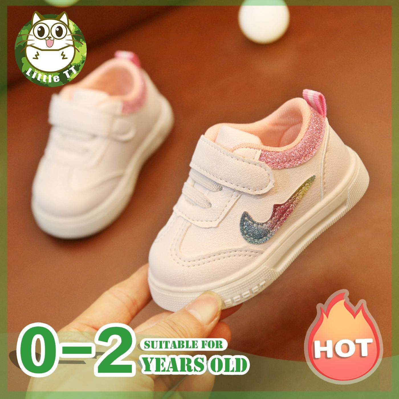 5913e6a7c79 Little TT Sneakers. Baby Boys Girls Casual Non-slip Sneakers Kids Sports  Shoes Girls