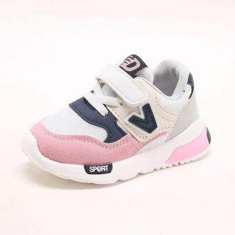64d56c66e8c46 การส่งเสริม 2018 high quality fashion baby sneakers sports cool new brand  baby toddlers girls boys shoes cool light baby first walkers ซื้อที่ไหน -  มีเพียง ...
