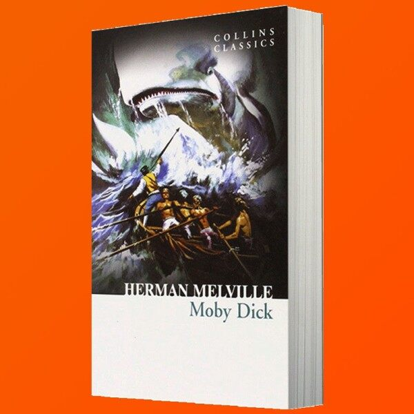 Spot New Products Books Beluga Imported English Original Novel Books Moby Dick Classic Famous American Literature