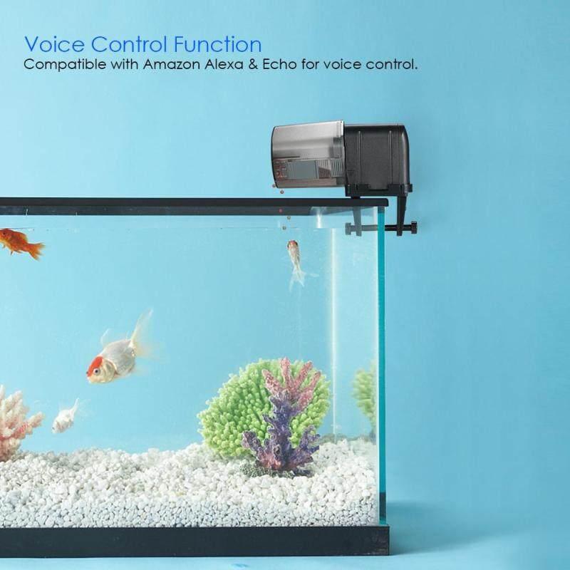 Tự Động Cá Trung Chuyển Xe Tăng Aquarium Ăn Hẹn Giờ Cá Thực Phẩm Dispenser Có Thể Điều Chỉnh Ổ Cắm Ứng Dụng Điều Khiển Bằng Giọng Nói Điều Khiển Tương Thích Với Alexa Petthome