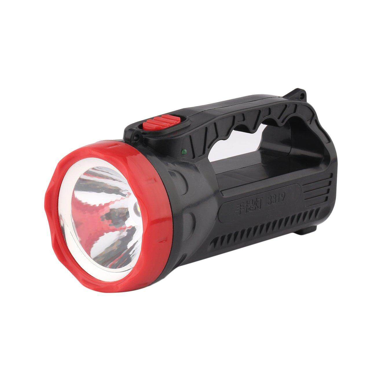 GOOD Outdoor LED Bright Charging Strong Light Flashlight Torch Light One Lamp Head - intl