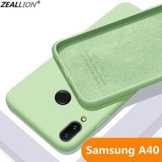 Zeallion ốp lưng cao su silicone lỏng thiết kế siêu mỏng, bảo vệ điện thoại và chống sốc cho Samsung Galaxy A50 A40 A70 A60 A20 A30 - INTL thumbnail