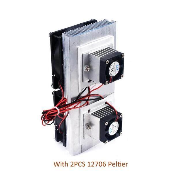 Bảng giá Tủ Lạnh Điện Tử Lõi Kép 12V, Mô-đun Làm Mát Chip Làm Lạnh Bán Dẫn Tự Làm Bộ Dụng Cụ Tuyệt Vời Với 2 Chiếc 12706 Peltier
