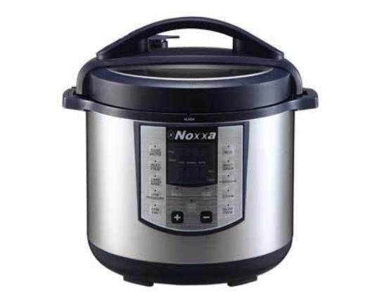 Noxxa Electric Multifunction Pressure Cooker (8L)