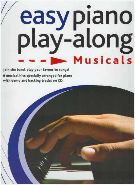 Easy Piano Play-Along Musicals / Piano Book / Music Book / Voice Book / Pop Song Book / Song Book Malaysia