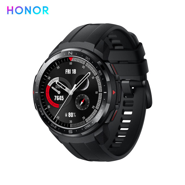 HONOR Watch GS Pro Rugged Outdoor Smartwatch with GPS 5ATM Waterproof Sports Watch with 100+ Workout Modes Wearable Fitness Tracker with Heart Rate Monitor Sleep Tracker Music Player for Phone Calls for Men Women Compatible with Android iOS