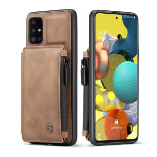 Thinmon Cho Samsung Galaxy A51 Samsung Galaxy A71 Da Retro Ốp Điện Thoại Với Thẻ Ví Có Ngăn Clip Đứng Chủ thumbnail