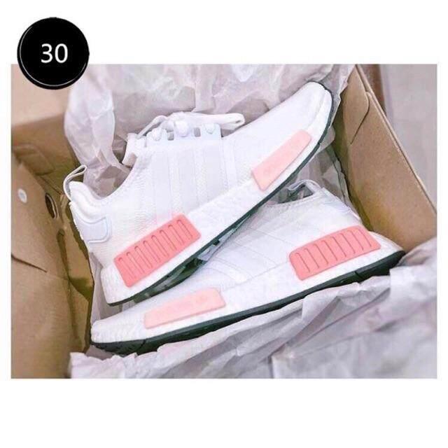 สอนใช้งาน  พัทลุง Adidas_original_NMD R1 Boost Men/Women Sneakers Running shoes 2019