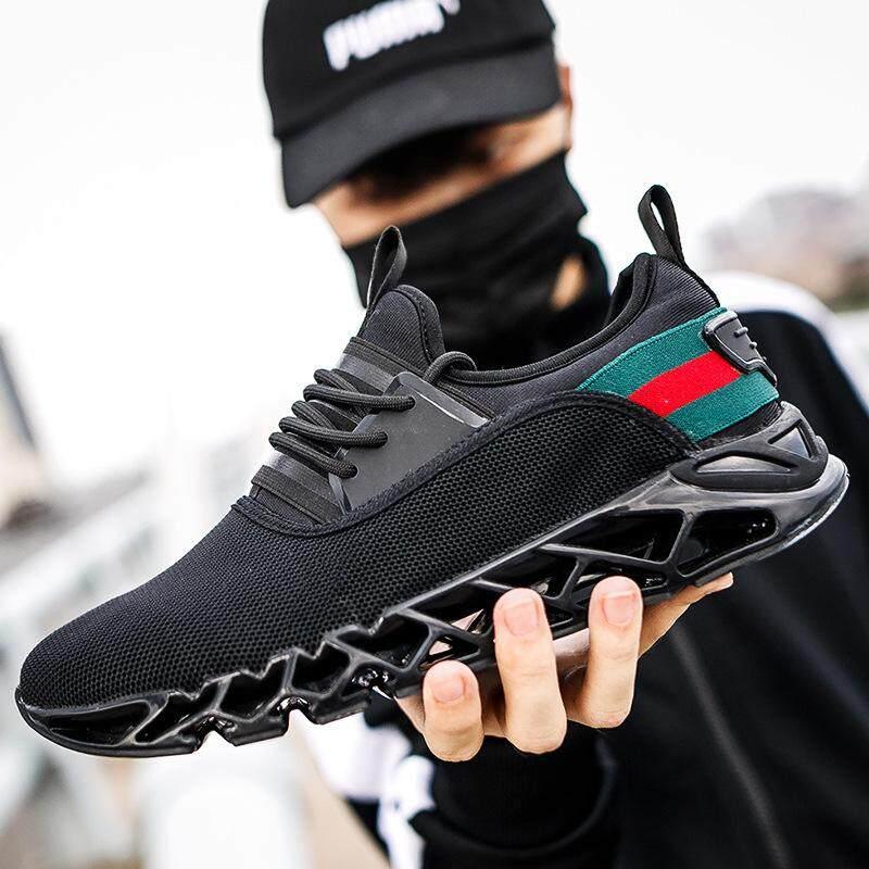 Giày Thể Thao nam Chạy Bộ 2019 cột dây Tập Thể Dục Cặp Đôi Giày Lưới Thoáng Khí Thư Size 39-46 giày thể thao dành cho Nam