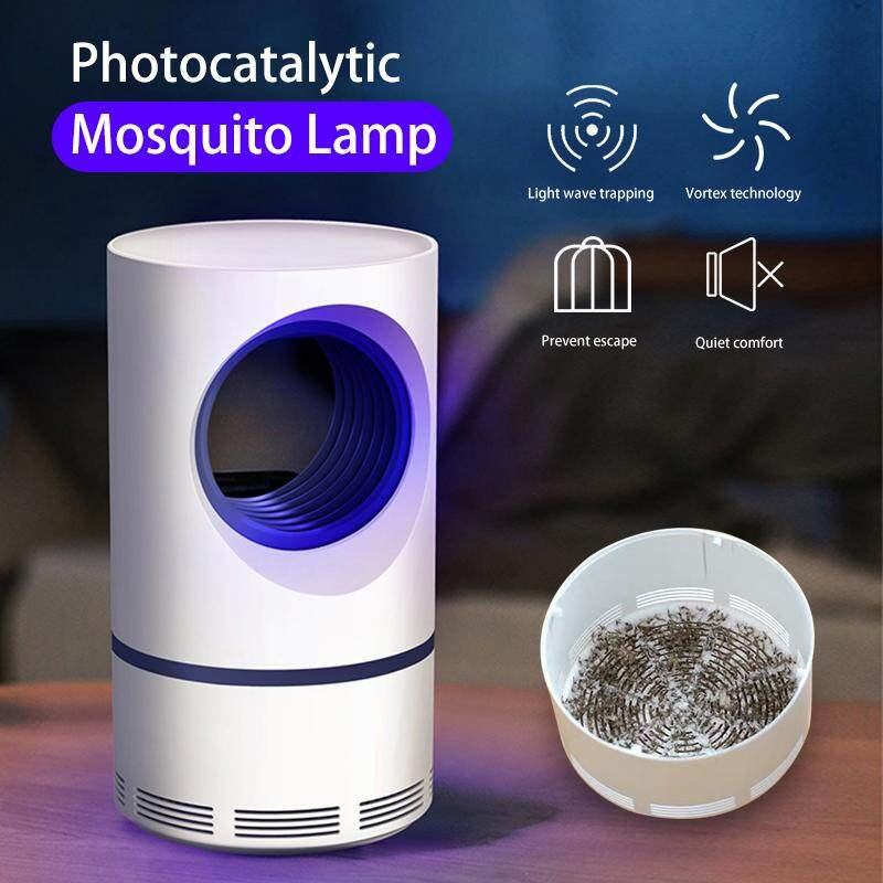 Mosquito Killer Lamp Purple Vortex Mosquitoes Repellent Portable USB Power Quiet Safe Non-Toxic Effective Mosquitoes Catcher
