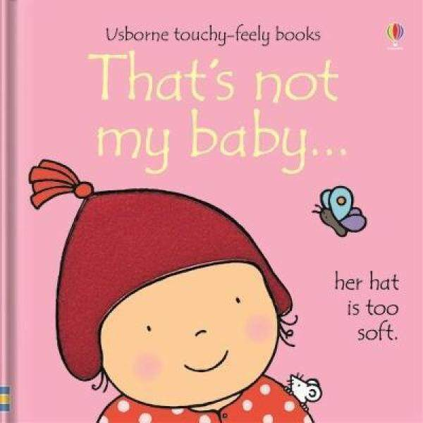 Usborne Touchy-Feely Baby Board Board: Thats Not My Baby (Girl)... Malaysia