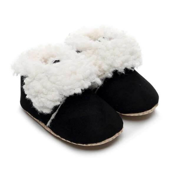Giày Trẻ Em, Giày Trẻ Em Đế Mềm Giày Em Bé Bốt Ấm Áp Da Báo Dễ Thương Cho Bé Trai Bé Gái Trẻ Tập Đi Mùa Đông Giày Bốt giá rẻ
