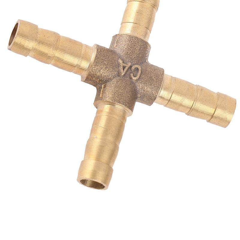 Homegarden Brass Pipe Tube Connectors Fuel Water Fluids Air Hose Tail Barb Fitting Union