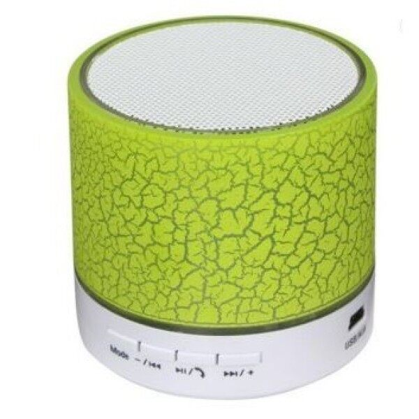 [READY STOCK] Colorful 7 Colours LED Light Mini Portable Bluetooth Speaker Support USB/AUX/TF Card [BUNNY] Malaysia