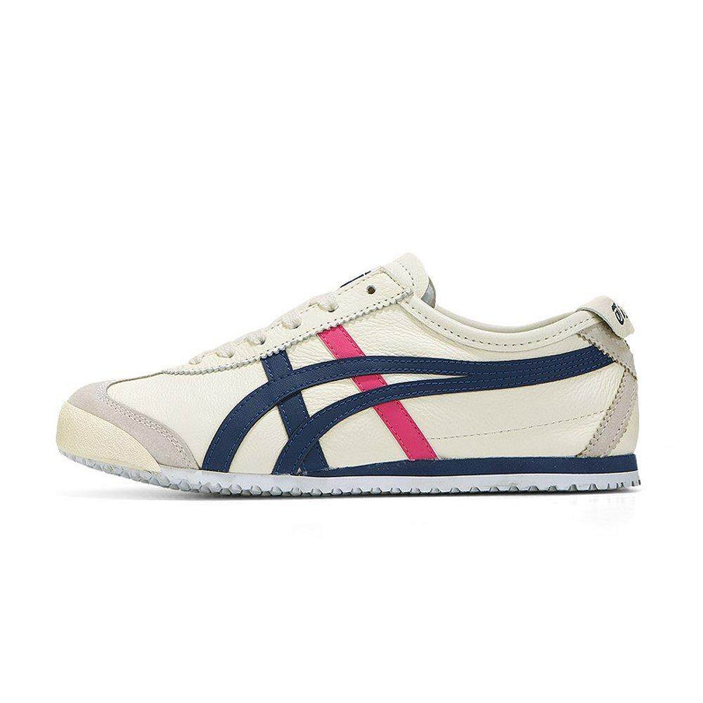 huge discount c961a 53d11 Onitsuka Tiger New Women's Mexico 66 1182A078_103 Cream/Midnight Blue