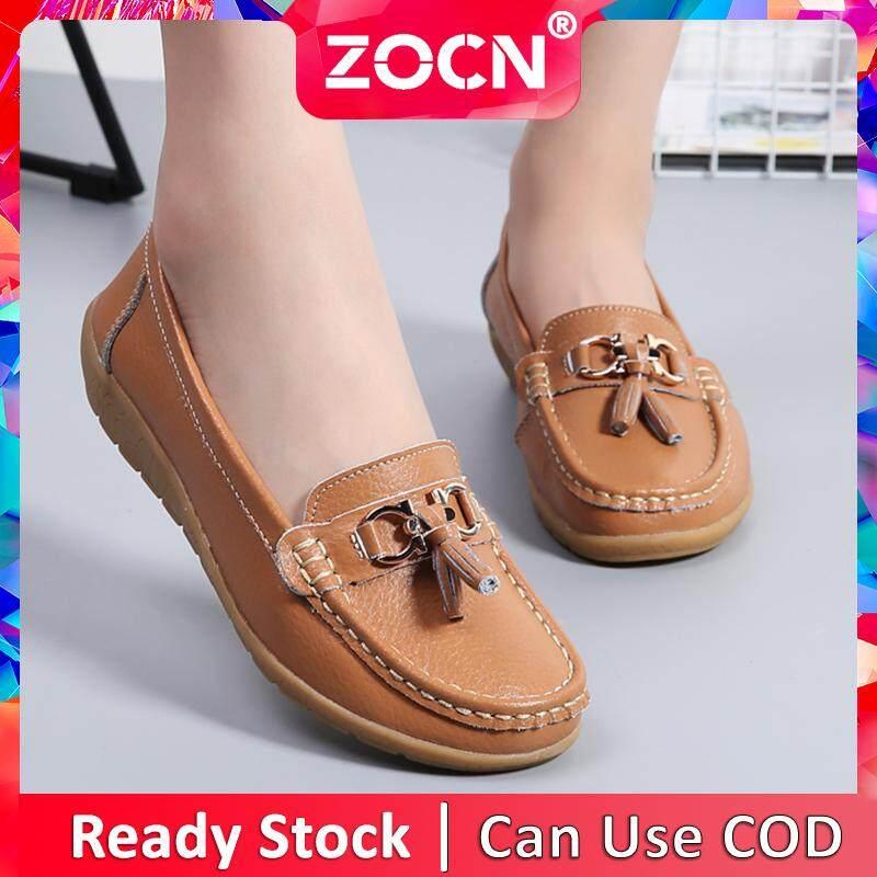 Shoes 35-44 Leather Fringed