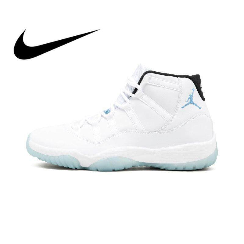 Original Authentic NIKE Air Jordan 11 Retro Legend Blue AJ11 Mens Basketball  Shoes 2019 New f55d8643db63