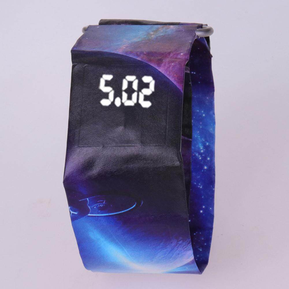 LumiParty Fashion Decoration Waterproof DIY Paper LED Watch Paper Watch
