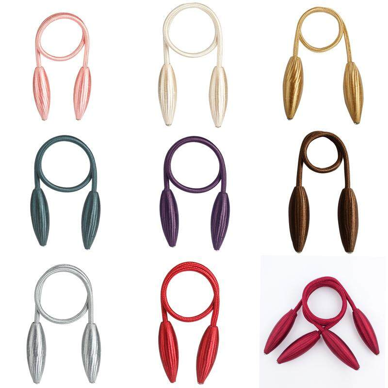 Hot Magnetic Tie Backs Curtain Rings Curtain Rope Buckle Curtain Draperies Holders