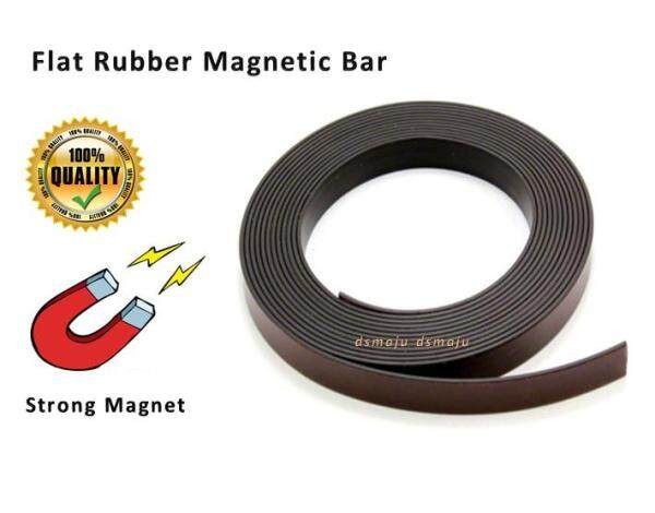 Strong Rubber Flat Magnetic Bar Insect Screen Flat Magnet Bar Flat Rubber Magnet Roll 扁平磁条