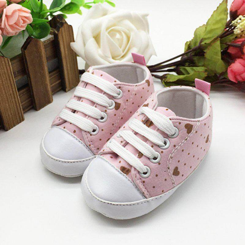 New Kids Infant Baby Boys Girls Soft Soled Cotton Crib Shoes Casual Prewalkers Baby Shoes