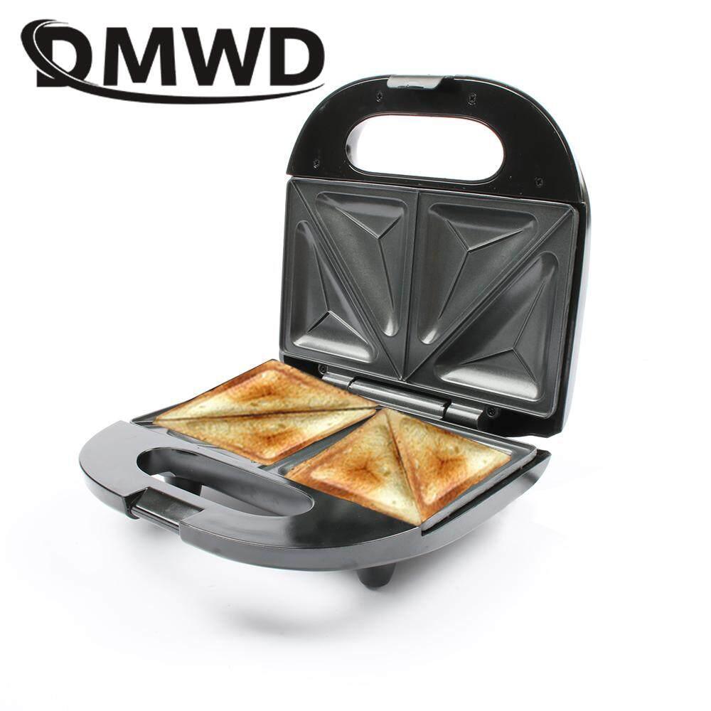 ece2393c85f Multifunction Electric Eggs Sandwich Maker Mini Bread Grill waffle crepe  Toaster Pancake baking Breakfast Machine EU