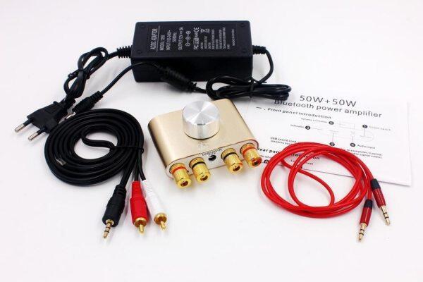 Bộ Thu Bluetooth 50W X2 F900, Điện Kỹ Thuật Số Khuếch Đại Âm Thanh, Hifi Stereo Power AMP Với Bộ Chuyển Đổi Nguồn