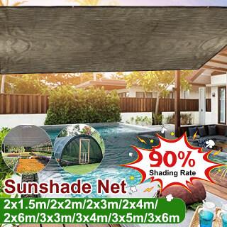 Lưới Che Nắng Sân Vườn Ngoài Trời Chống UV Bóng Râm, Vải Chống Nắng Hình Cánh Buồm Nhà Kính Thực Vật, Vỏ Xe thumbnail